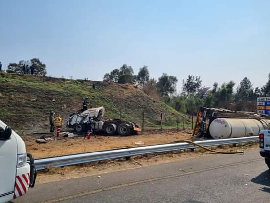 Chemical tanker crash