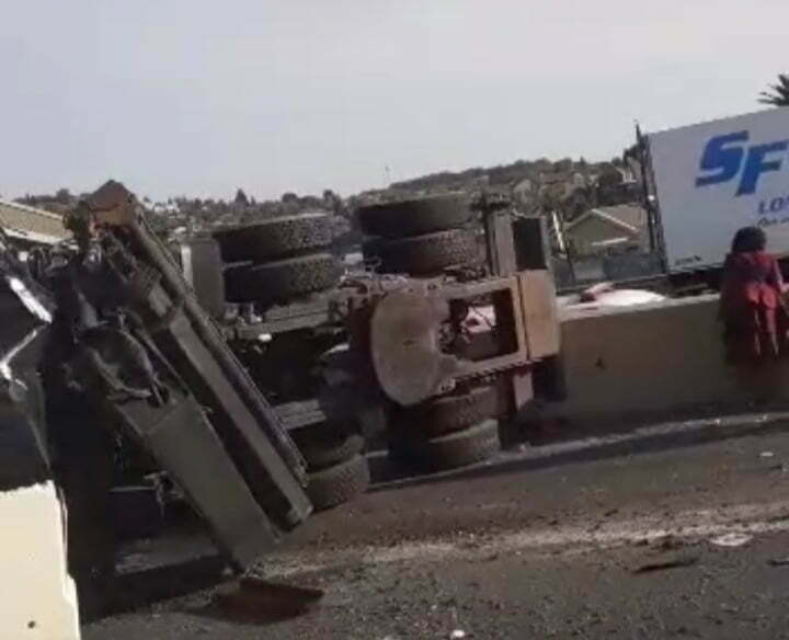 N12 truck accident klipriver
