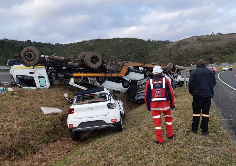 Mosselbay truck accident