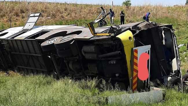 Eldo coaches bus crash
