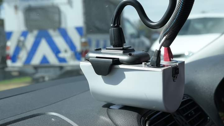 cape town traffic vehicles installed with apnr technology