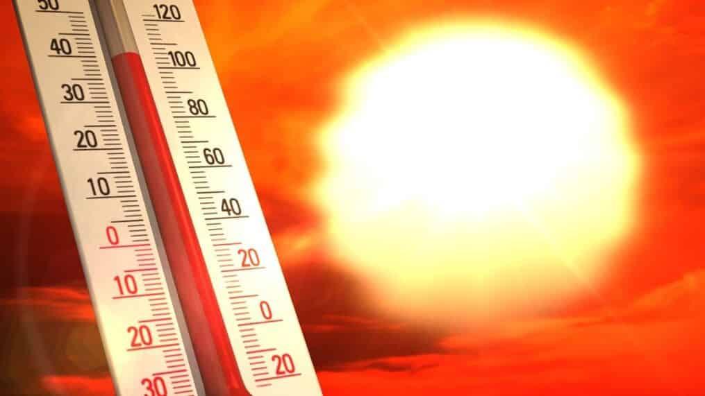 KZN temperatures